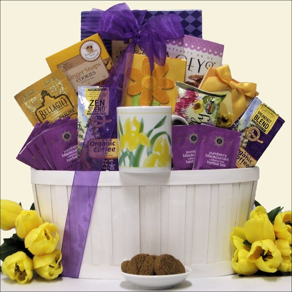 Great Arrivals Zen Blend Gourmet Coffee & Tea Gift Basket