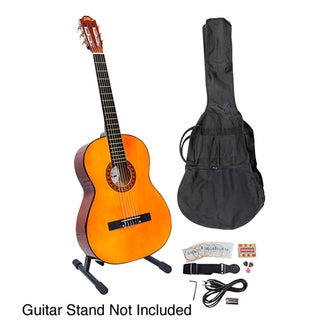 PylePro 39-inch Classical Guitar Starter Package