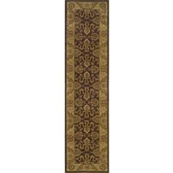 Ellington Brown/Beige Oriental Runner Rug (1'11 x 7'6)