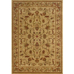 Ellington Brown/Red Transitional Area Rug (3'10 x 5'5)