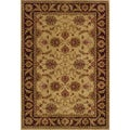 Ellington Beige/Brown Traditional Area Rug (6'7 x 9'6)