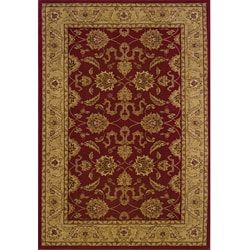 Ellington Red/Beige Traditional Area Rug (6'7 x 9'6)