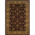 Ellington Brown/Beige Traditional Area Rug (7'8 x 10'10)