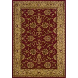 Ellington Red/Beige Traditional Area Rug (7'8 x 10'10)