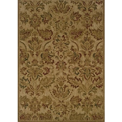 Ellington Beige/Green Transitional Rug (7'8 x 10'10)