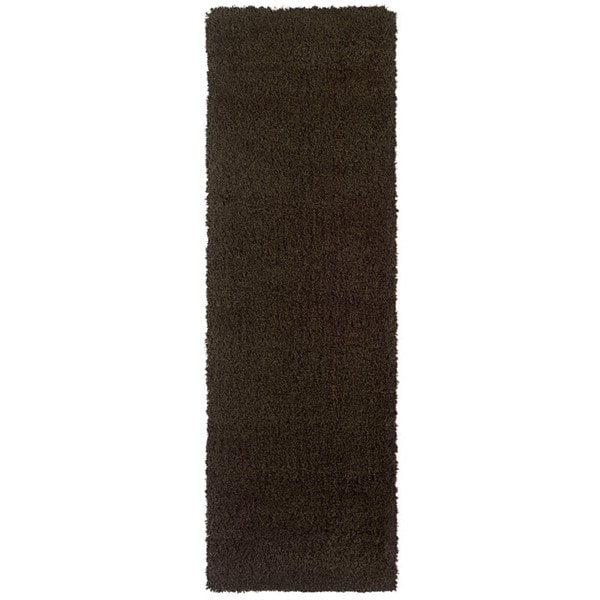 Manhattan Brown Area Rug (2'3 x 7'9)