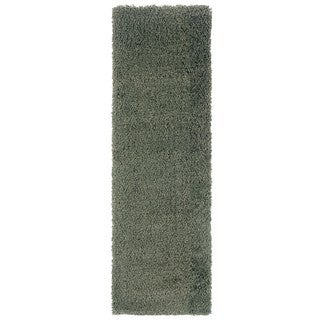 Manhattan Blue Area Rug (2'3 x 7'9)
