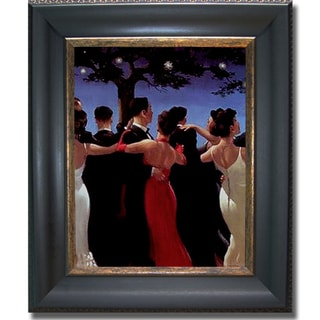 Jack Vettriano 'The Waltzers' Framed Canvas Art