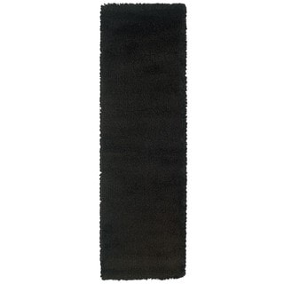 Manhattan Black Area Rug (2'3 x 7'9)