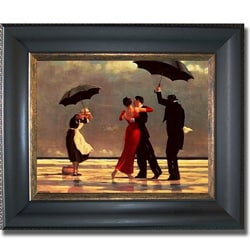 Jack Vettriano 'Singing Butler' Framed Canvas Art