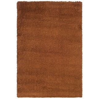 Manhattan Rust Area Rug (5'3 x 7'9)