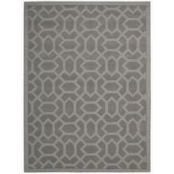 Nourison Hand-tufted Barcelona Grey Rug (3'6 x 5'6)