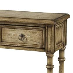 Hand Painted Wheat Accent Console Table