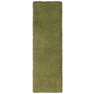 Manhattan Green Area Rug (2'3 x 7'9)