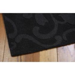 Nourison Hand-tufted Barcelona Black Rug (5'3 x 7'4)