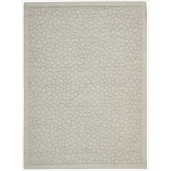 Nourison Hand-tufted Barcelona Light Green Rug (7'9 x 9'9)
