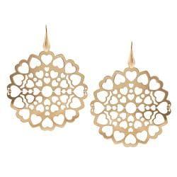 Tressa Rose Goldplated Sterling Silver Heart Earrings