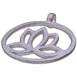 Sterling Silver Enlightenment Lotus Pendant (India)