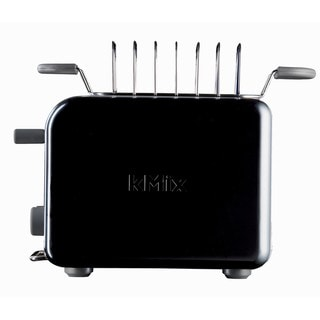 DeLonghi kMix 2-slice Black Toaster