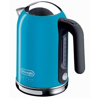 DeLonghi kMix Blue 54-ounce Electric Kettle