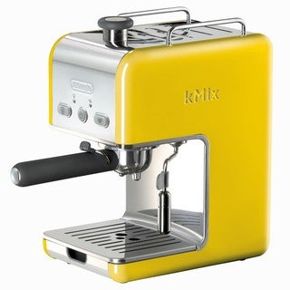 DeLonghi kMix Yellow Pump Espresso Maker