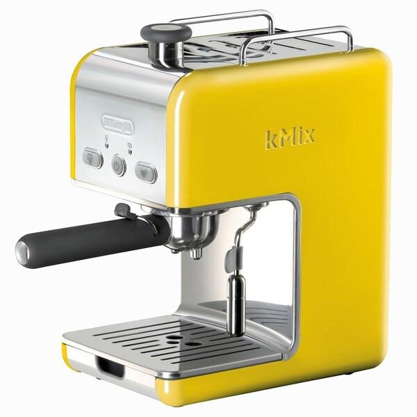 DeLonghi kMix Yellow Pump Espresso Maker