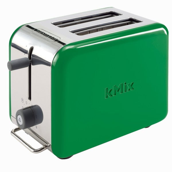 DeLonghi kMix 2-slice Green Toaster