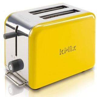 DeLonghi kMix Yellow 2-slice Toaster