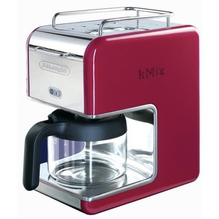 DeLonghi kMix 5-cup Red Drip Coffee Maker