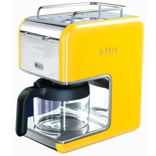 DeLonghi kMix 5-cup Yellow Drip Coffee Maker