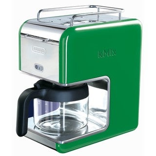 DeLonghi kMix 5-cup Green Drip Coffee Maker