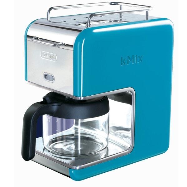 DeLonghi kMix 5-cup Blue Drip Coffee Maker