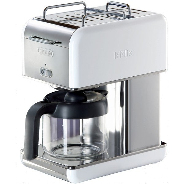 DeLonghi kMix White 10-cup Drip Coffeemaker