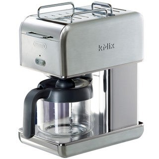 DeLonghi kMix Stainless Steel 10-cup Drip Coffeemaker