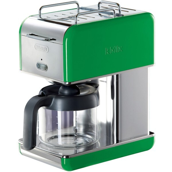 DeLonghi DCM04GR kMix 10-cup Green Drip Coffee Maker
