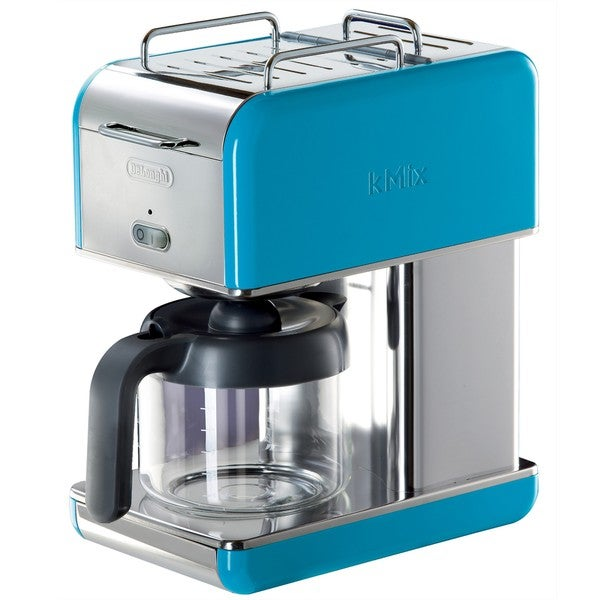 DeLonghi kMix 10-cup Blue Drip Coffee Maker