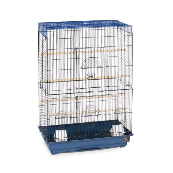 Prevue Pet Products Blue/ Black Flight Cage