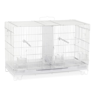 Prevue Pet Products White Breeder Cage