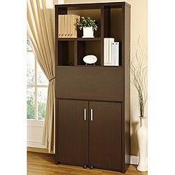 Porta Cappuccino Bookcase Workstation