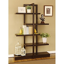 Addison Cappuccino Bookcase Display Stand