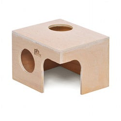 Prevue Pet Products Extra-large Solid-wood Animal Hut for Rabbits