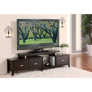 Cappuccino 60-inch Expandable TV Entertainment Console