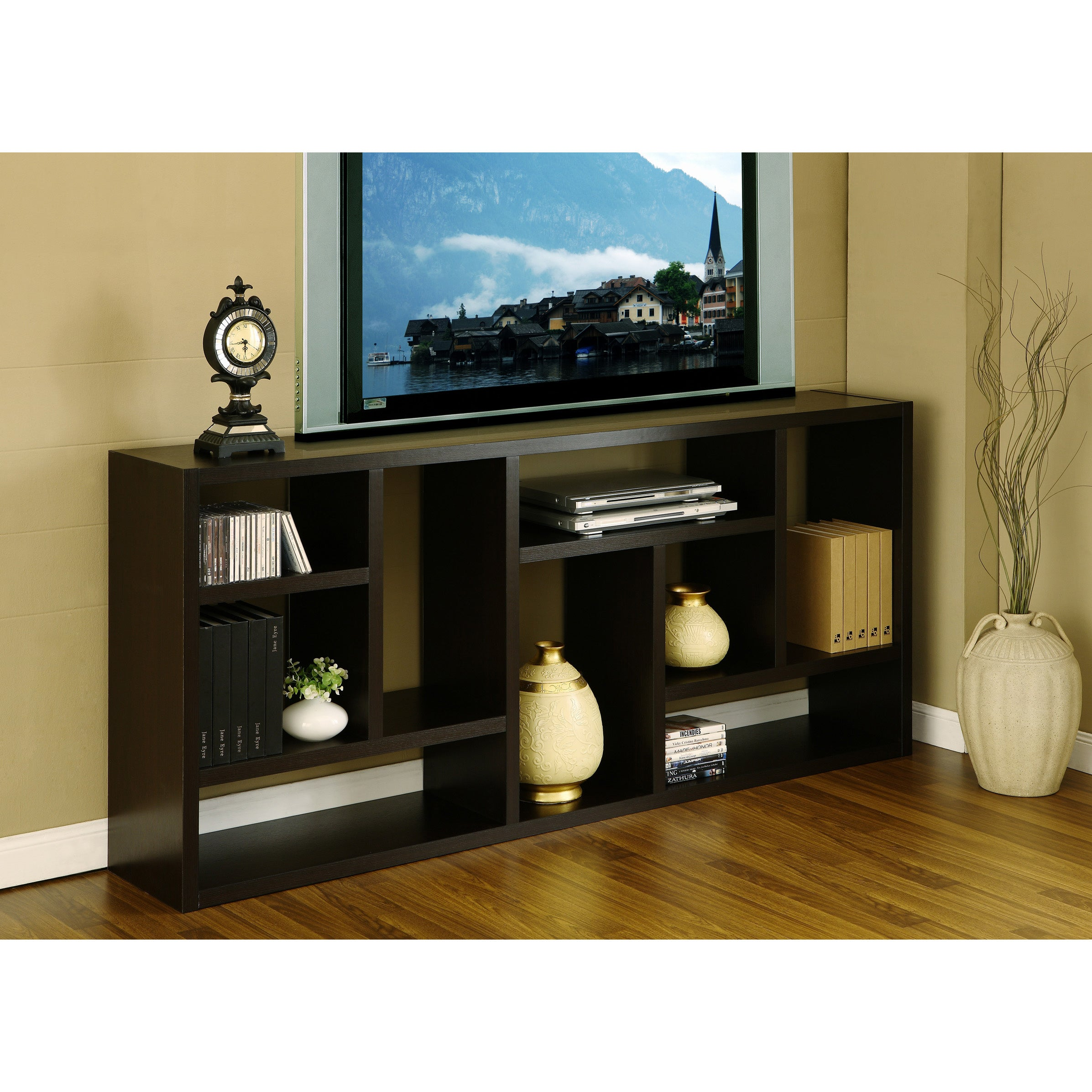 Furniture of America Multi-Purpose 3-in-1 Display Cabinet/ TV Stand/ Bookcase at Sears.com