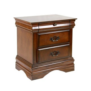 Furniture of America Florence Dark Oak Night Stand
