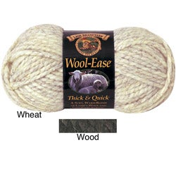 Lion Brand Wool-Ease Thick & Quick Acrylic/Wool Yarn