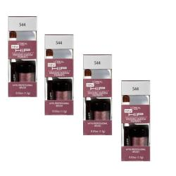 L'Oreal HIP Shocking Shadow Pigments #544 Unashamed Eye Shadow (Pack of 4)
