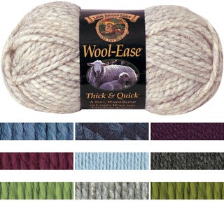 Lion Brand Wool-Ease Thick & Quick Machine-Washable Yarn