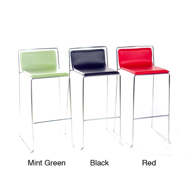 T-1 Modern Steel Barstools (Set of 2)