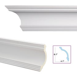 Cove 7.3-inch Crown Molding