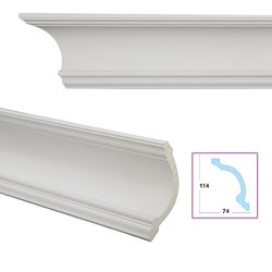 Cavetto 5.3-inch Crown Molding